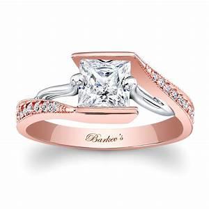 Barkev39s Rose Gold Engagement Ring 7924LT Barkev39s