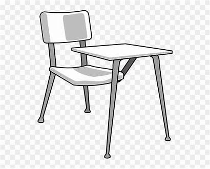 Desk Clipart Step Draw Middle