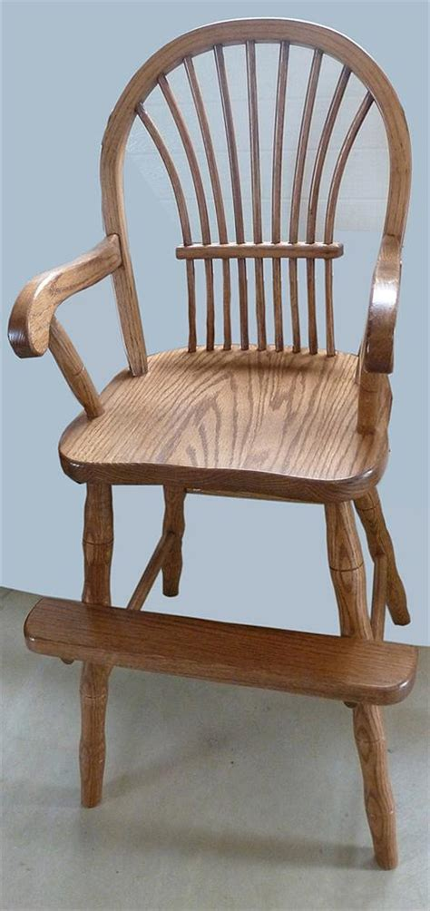 this toddler youth furniture hardwood oak chair amish bow