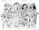 Justice League Coloring Pages Daredevil Jla Dc Unlimited Member Castrillo Para Version Colorear Liga Comments Getcoloringpages Coloringhome sketch template