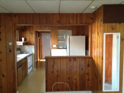 kitchen paneling ideas ideas for wall base with wood paneling on top painting diy chatroom home improvement forum