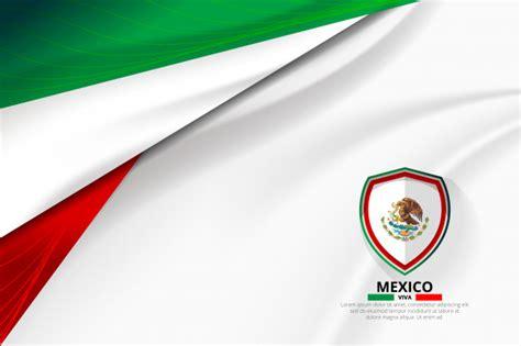 foto de Mexico flag concept background Premium Vector