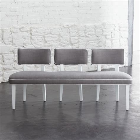 Upholstered Dining Room Benches With Backs, Upholstered