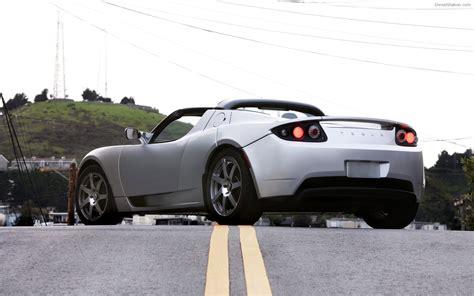 Tesla Roadster Sport Widescreen Exotic Car Image 04 Of 72
