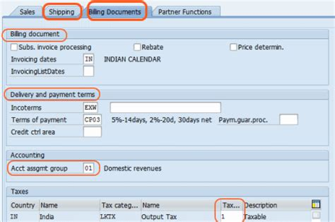 sap tax category table create customer master data by xd01 sap training tutorials