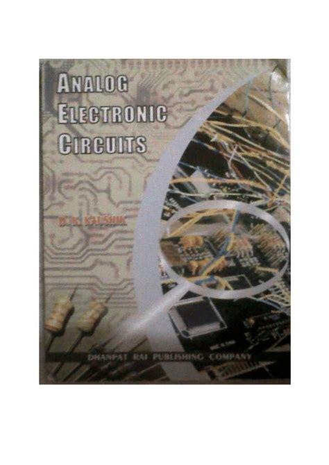 Pdf Analog Electronic Circuits