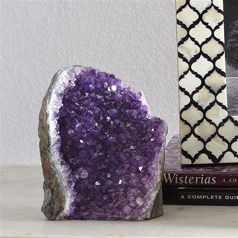 Amethyst Geode  Traditional  Home Decor  By Wisteria