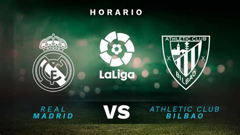 ¿A qué hora y en qué canal de TV juega el Real Madrid ...