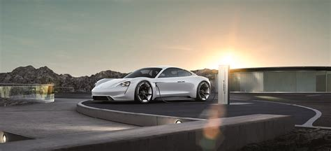 Fully Electric Sports Car by Porsche S Fully Electric Sports Car Is Named Taycan