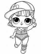 Lol Dolls Coloring Pages Printable Mycoloring Colorong sketch template