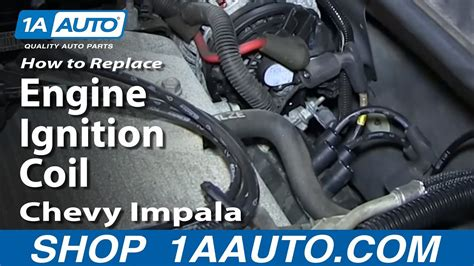replace install engine ignition coil   chevy