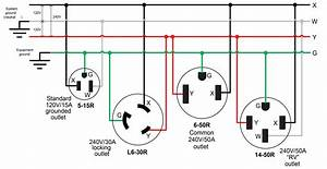 20a 250v Receptacle Wiring Diagram