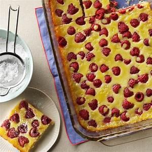Raspberry Custard Kuchen Recipe Taste Of Home