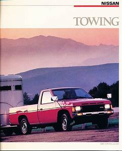 1988 Nissan Pickup Truck And Pathfinder Trailer Towing Guide Car Brochure