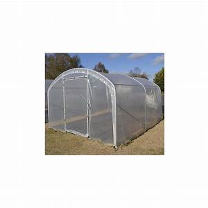 Serre Tunnel De Jardin : votre serre tunnel de jardin pied droit 2 portes jardin et ~ Melissatoandfro.com Idées de Décoration