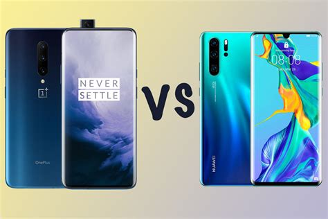 oneplus  pro  huawei p pro differences compared