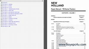 New Holland Tm120 Tm130 Tm140 Tm155 Tm175 Tm190 Pdf Manual