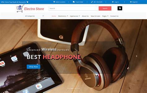 smart store  shopping cart mobile website template