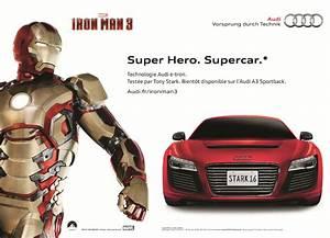 Voiture Iron Man : iron man 3 le spot iron man roule en audi r8 e tron lyricis interactive ~ Medecine-chirurgie-esthetiques.com Avis de Voitures