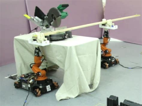 robotic carpenters  power tools  build furniture