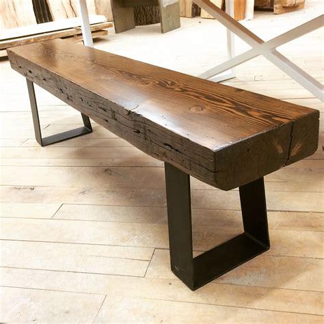 top   bench     douglas fir finished