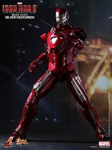 Onesixthscalepictures  Hot Toys Iron Man 3 Silver Centurion Armor  Mark Xxxiii    Latest Product