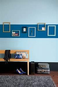peinture chambre mur fonce ralisscom With couleur tendance peinture salon 13 inspirations deco en vert fonce joli place