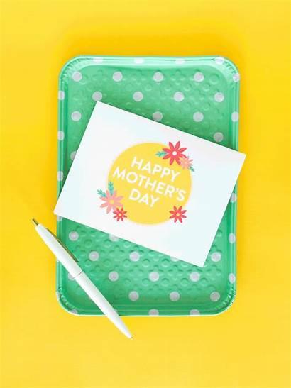 Cards Printable Mother Mothers Folder Washi Bone