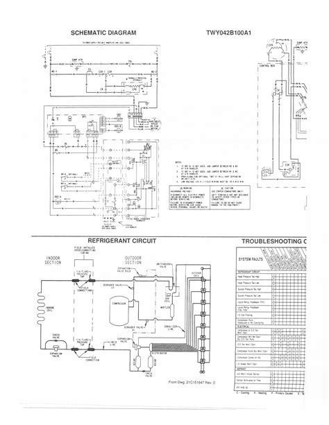 Heat Ac Wiring Diagram by Trane Heat Wiring Diagram Free Wiring Diagram