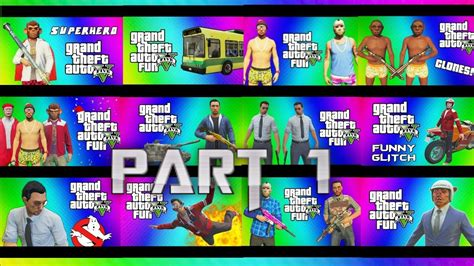 Gta 5 Funny Moments Part 1-best Of Vanoss And More!banana