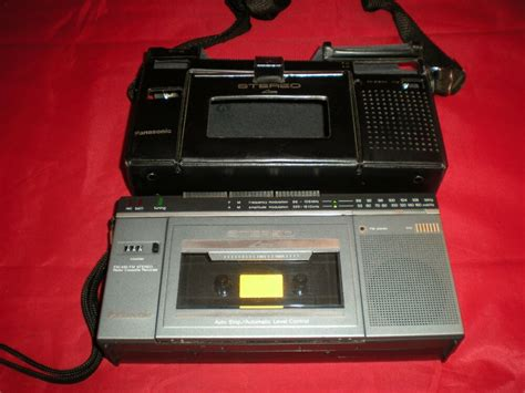 vintage panasonic portable stereo rx 2700 am fm radio cassette recorder asis ebay
