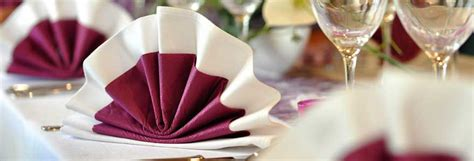 table de fete idees de pliage de serviette