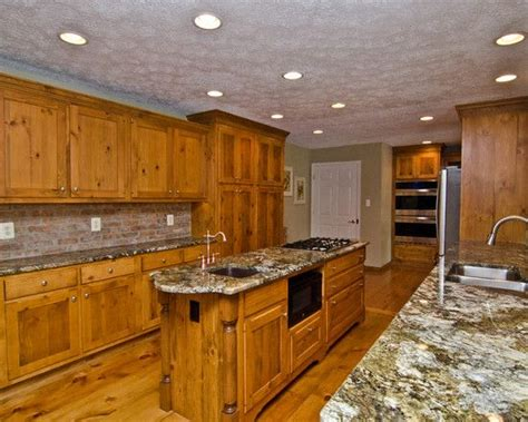 17 best ideas about pine kitchen cabinets on