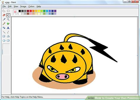 How To Create Your Own Pokémon 13 Steps (with Pictures