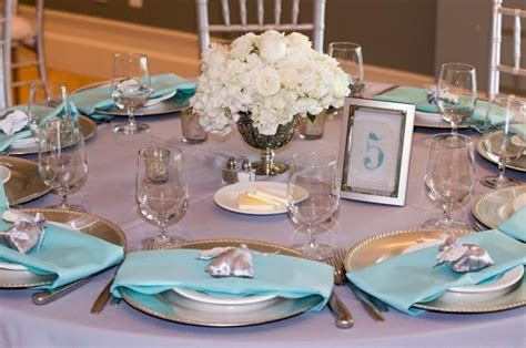 Wedding Table Numbers Beach Wedding Decor Teal Or Blue