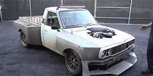Turbo Ls Toyota Hilux Drives 3000 Miles To Do Burnouts