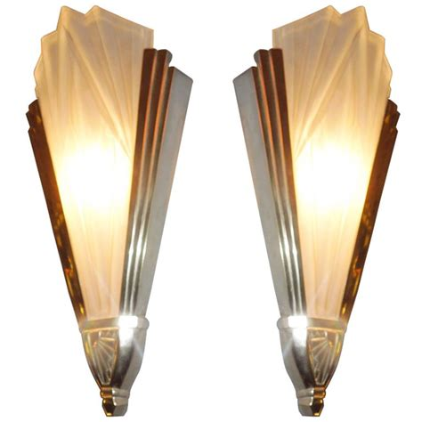 wall sconce lighting art deco art deco sconces from degu 233 modern wall art deco and modern