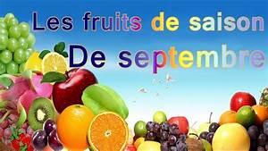 Fruits De Septembre : quels sont les fruits de saison de septembre conomie et sant youtube ~ Melissatoandfro.com Idées de Décoration