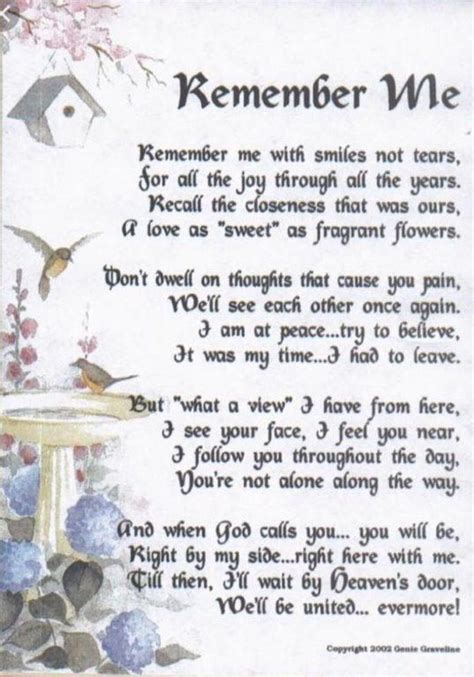 pin  ashly hamilton  gift ideas poem  death