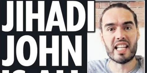 russell brand facebook russell brand s latest trews video on jihadi john has the