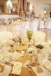 Deco Mariage Romantique : deco mariage beige et blanc le mariage ~ Nature-et-papiers.com Idées de Décoration