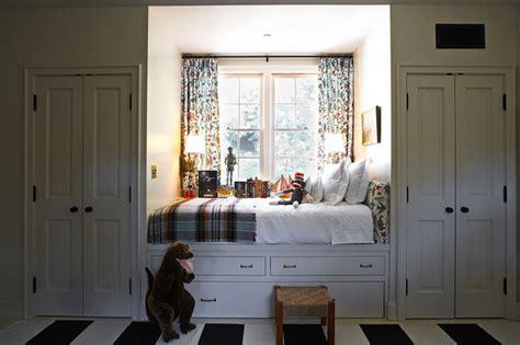 window seat bed cottage boy s room kristen panitch