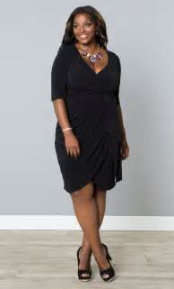 black wrap plus size dress dress fric ideas