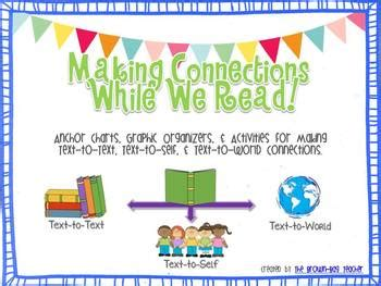 Making Connections (text,self,world) While Readingposters & Graphic Organizers