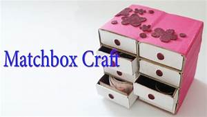 Hand Made Matchbox Craft Best From Waste Material Hand