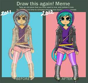 Draw this Again! Ramona Flowers by jrigs34 on DeviantArt