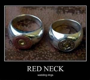 red neck wedding rings With funny wedding rings