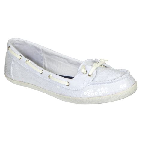White Boat Shoes by Bongo Women S Casual Boat Shoe Port White Shop Your