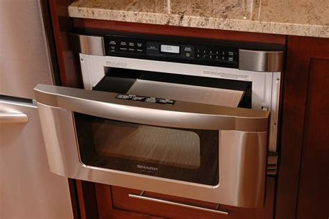 drawer microwave ovens how to select the right kitchen appliances for your remodel