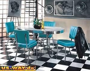 Us Diner Möbel : usa bel air diner m bel dinerbank 2x dinerb nke tisch 50er jahre style ebay ~ Markanthonyermac.com Haus und Dekorationen